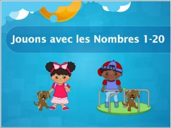 French Numbers 1-20 Powerpoint Activities (Elementary, FLES, Bilingual)