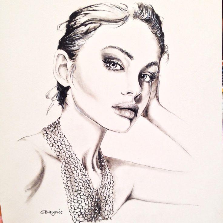 Stephanie Baynie Fashion Illustration @stephbaynie