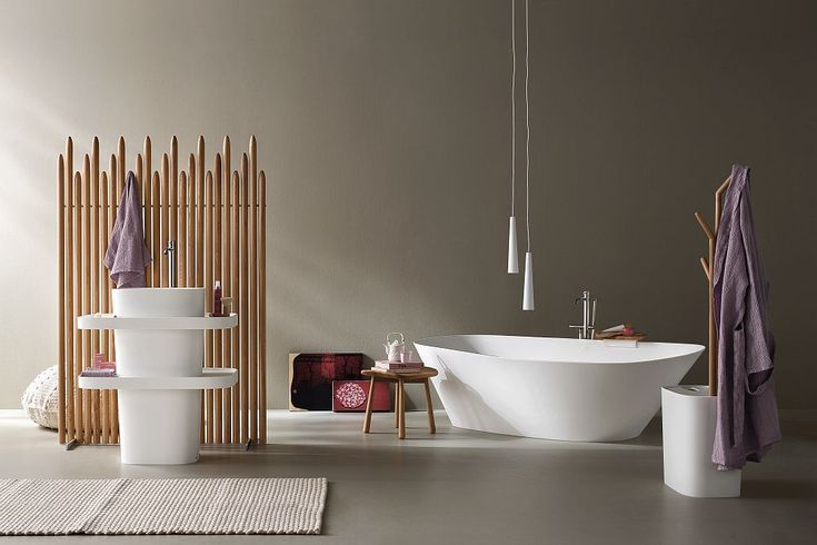 Spa styled luxury ushered into your home Fonte and Esperanto: Bathroom Décor Brings Home Spa Style Refinement