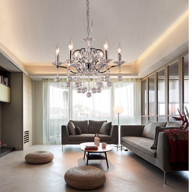 Crystal Ceiling Pendant Lamp light
