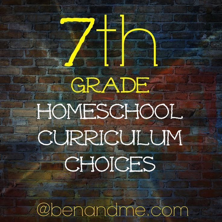 Setting Goals for Middle School and 7th Grade Curriculum Choices #homeschool