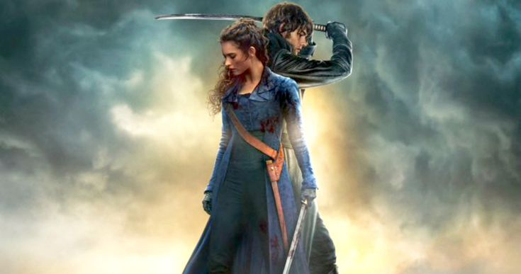'Pride & Prejudice & Zombies' Poster Unleashes an Undead Army -- Lily James and Sam Riley get ready to slay a slew of zombies in the new poster for 'Pride and Prejudice and Zombies'. -- http://movieweb.com/pride-prejudice-zombies-movie-poster/