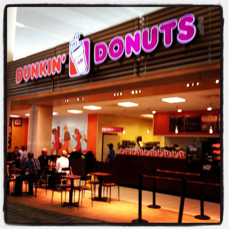 Dunkin' Donuts in the Bahamas.