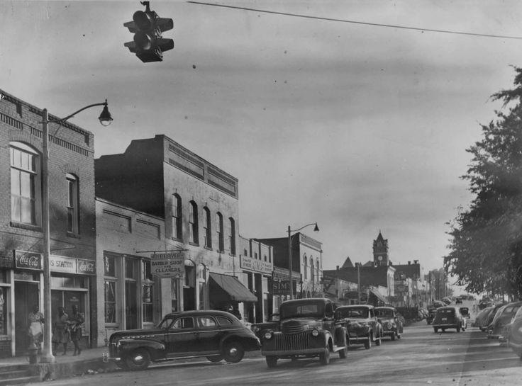 1950s Main Street In Douglasville Historic Douglasville