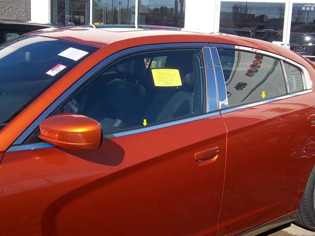 CHARGER 2011-2013 DODGE (4 pieces: Window Sill Trim) WS51910