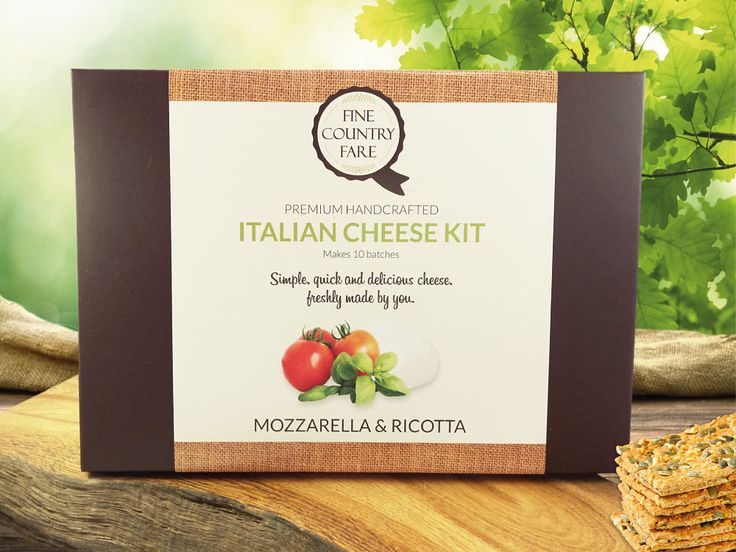 Our most popular cheese making kit - fresh italian cheese in just one hour. It's fun, quick and makes the perfect gift for foodies and cheese lovers!