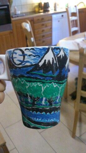 Mug The Hobbit book cover.