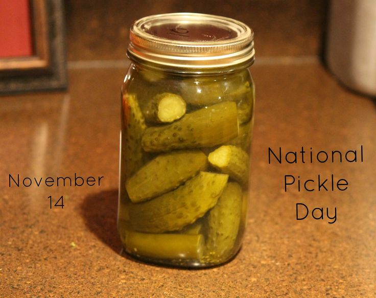 NATIONAL PICKLE DAY – November 14 | National Day Calendar