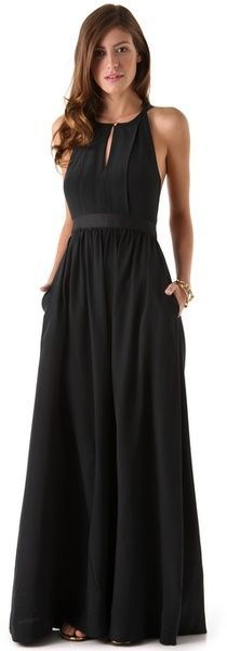 Easy Summer Maxi Dress.. But obviously in a nice fun summer colour @Chevelle Jefferson