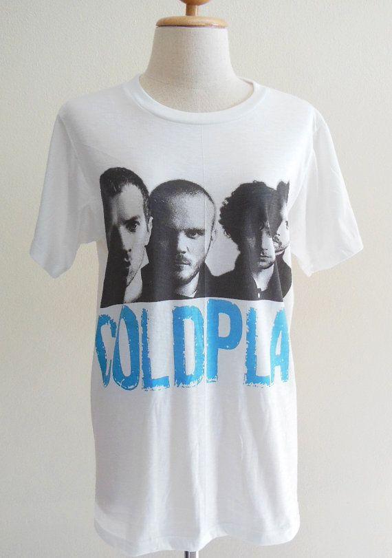 Coldplay Shirt British Rock Band Alternative Rock Post Britpop -- Coldplay T-Shirt Music Tee Shirt Women T-Shirt Men T-Shirt Size M on Wanelo