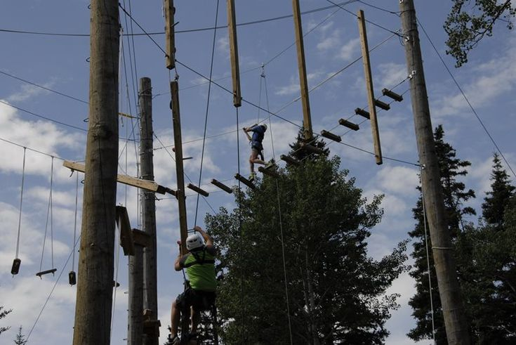 Located in beautiful Elkwater, Alberta, our one-of-a-kind High Ropes Course is the perfect activity to challenge any adrenaline junky, team or group! Additional services such as guided hikes, yoga classes, canoe or paddling courses, team-building games, and food options are available.