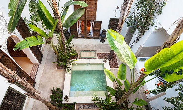 Riad's are Morocco's go to hotels. We've booked them and are ready to go! Visit our blog for more!!!!
