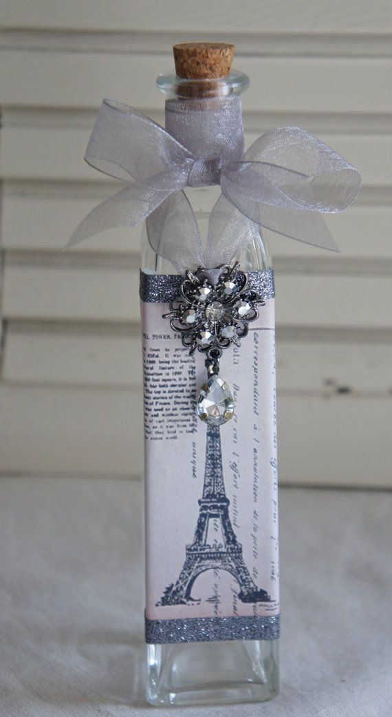 French inspired decorative bottle.