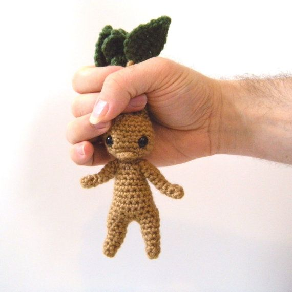 Mandrake Amigurumi Mandrake Crochet Root Harry by LaPetiteUnicorn