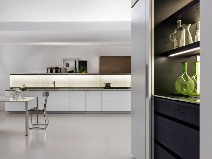 Dada trim kitchen designed by dante bonuccelli designed for fast paced contemporary life through