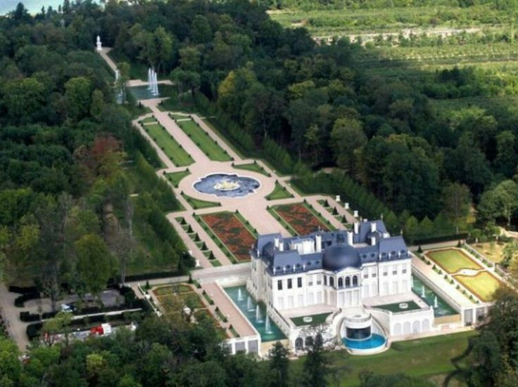 The most expensive palace/home in the World, in Louveciennes, a posh suburb near Paris, purchased by Crown Prince Mohammed bin Salman of Saudi Arabia