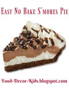 Easy No Bake S'mores Pie #OwnTheOccasion  #GotItFree  @edwardsdesserts