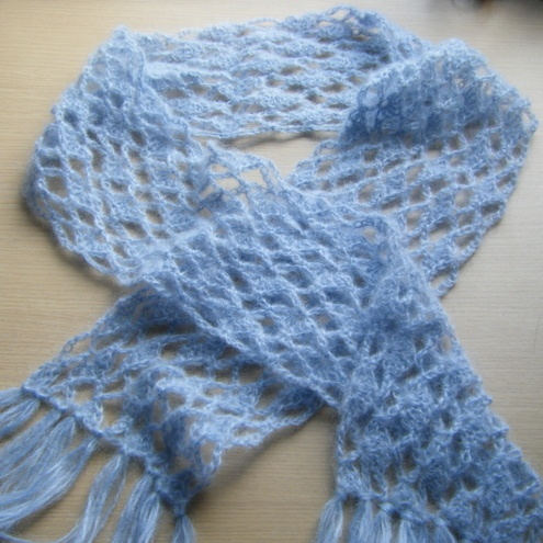 Knitting Patterns For Mohair Scarves : 17 Best images about Knit: Mohair on Pinterest Silk, Knit scarves and Croch...