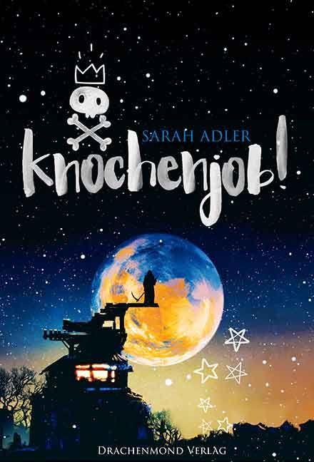Buchrezension zum Buch Knochenjob! von Sarah Adler aus dem Drachenmond Verlag #buch #bücher #lesen #rezension #buchrezension #fantasy #tod #bericht #sarah #adler #sarahadler #drachenmond #verlag #drachenmondverlag #blog