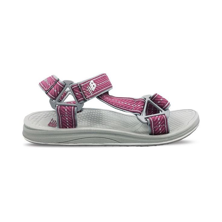 New Balance PureAlign Women's Rafter Sandals, Size: 5, Dark Pink