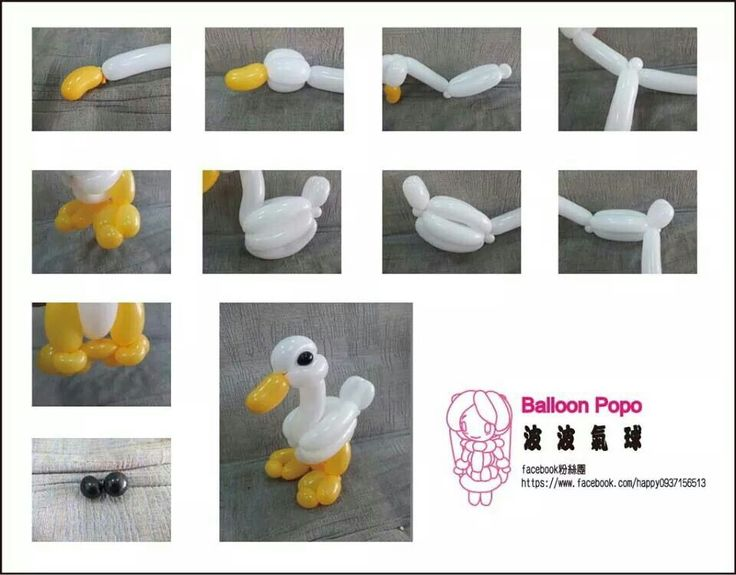 how to make a balloon fish step by step