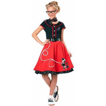 50's Sweetheart Girls' Child Halloween Costume