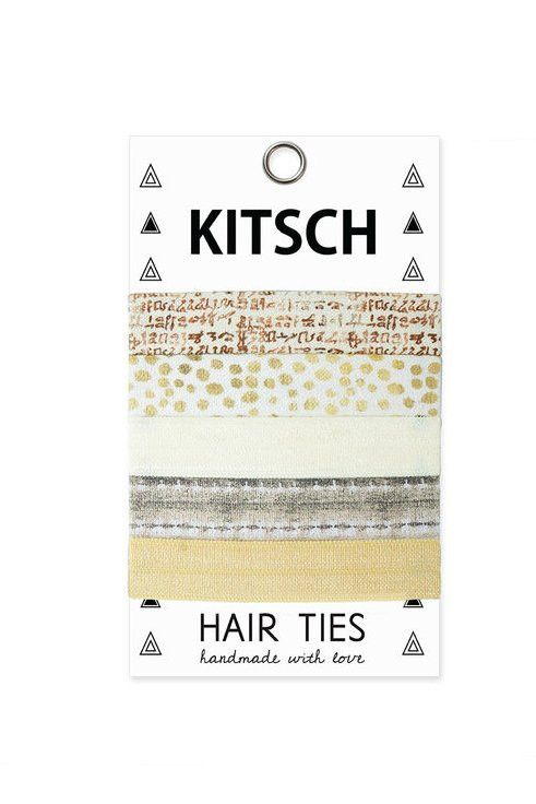Zen Kitsch Hair Ties