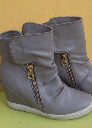 Kup mój przedmiot na #vintedpl http://www.vinted.pl/damskie-obuwie/obuwie-sportowe/10277360-sneakersy-39-szaro-biale