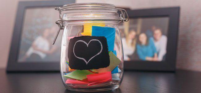 El frasco de la felicidad para desarrollar el pensamiento positivo en los niños