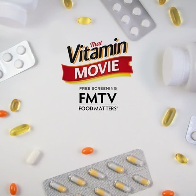 With prescription medications now in the top ten killers of Americans, taking more lives than illegal drugs and more lives than car accidents, this timely documentary shows that there is a safer, more effective and cheaper way to tackle illness: ⠀  ⠀  💊 VITAMINS 💊 Want to know how? Join FMTV for the free screening of That Vitamin Movie this weekend, follow the link in our bio to save your spot!