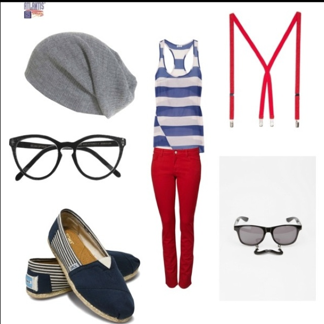 One Direction inspired outfit. Louis<3