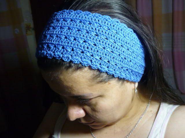 balaca o diadema tejida en crochet