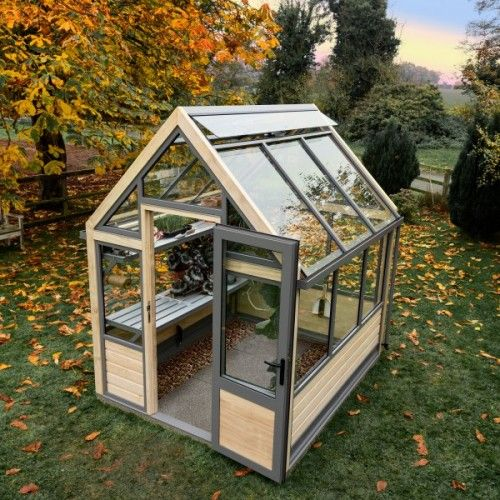 1000 ideas about wooden greenhouses on pinterest greenhouses lean to greenhouse and - How to build a wooden greenhouse ...