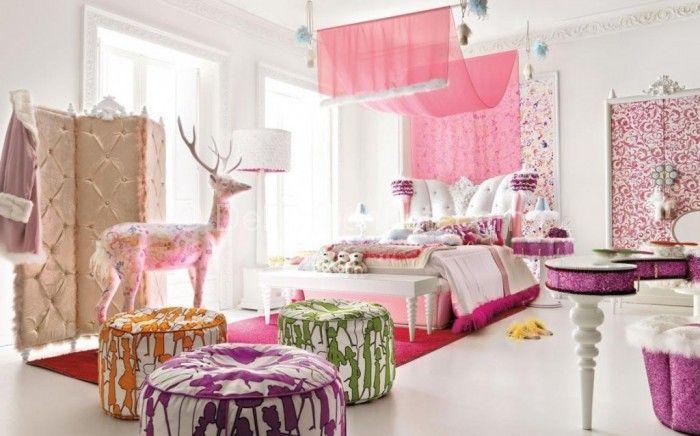 genç kız odası dekorasyonu (6)