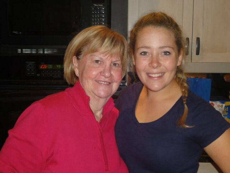 Nana and Caterina...