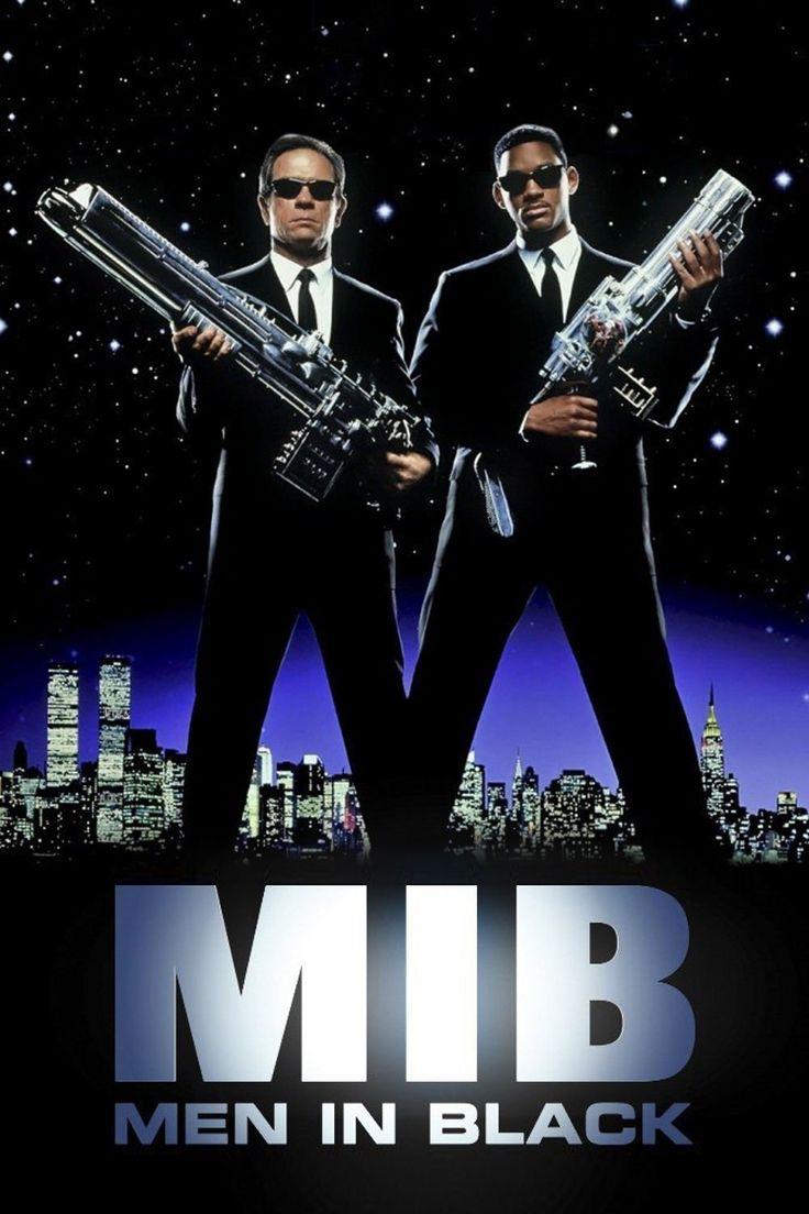 MIB 1 Homens de Preto.  Filme de ficção e comédia que também retrata o mundo alienígena (sempre um fundo de verdade...)