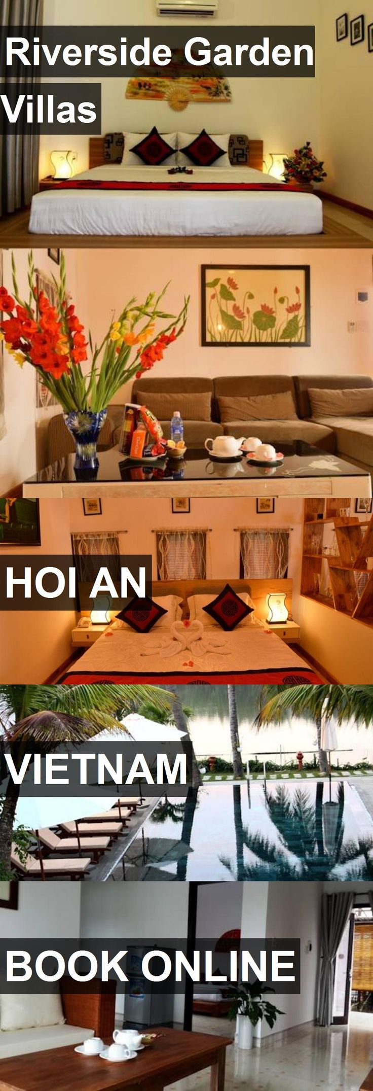 Hotel Riverside Garden Villas in Hoi An, Vietnam. For more information, photos, reviews and best prices please follow the link. #Vietnam #HoiAn #travel #vacation #hotel
