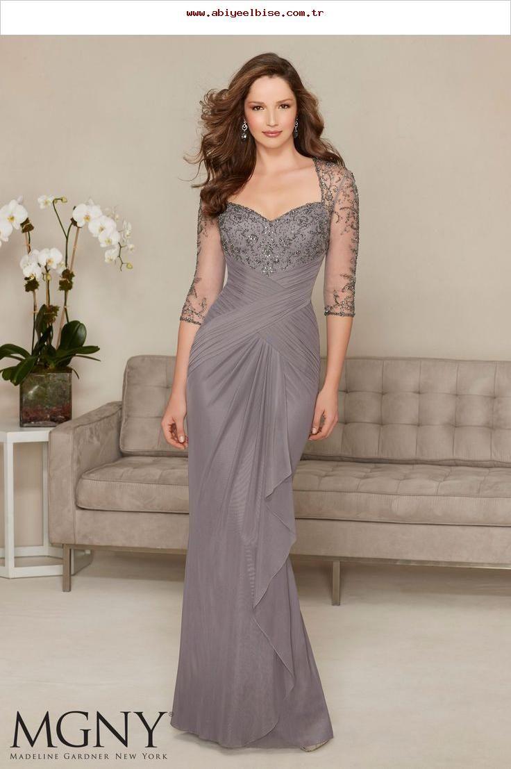 Abendkleider und Kleider für die Brautmutter von MGNY Beading on
