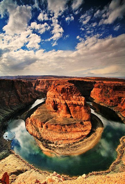 Horseshoe Bend--Grand Canyon; I saw it in 2012 with Sara G.
