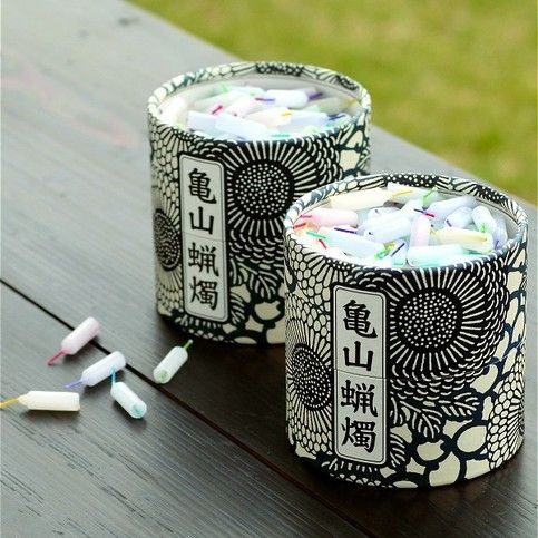 Look at these tiny candles black and white #packaging PD