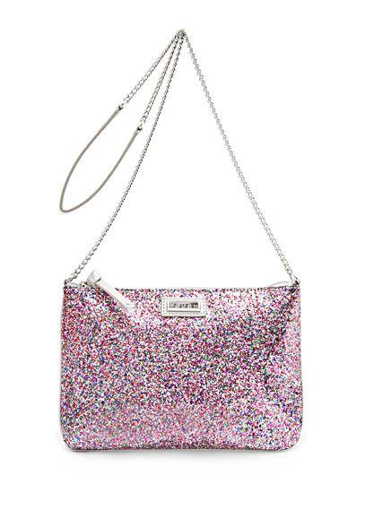 Sequin Messenger Handbag