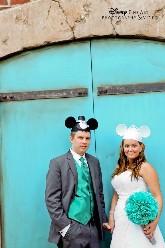 Mickey And Minnie Wedding Ears