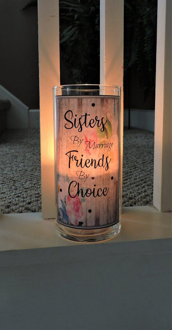 Sister In Law Candle Holder