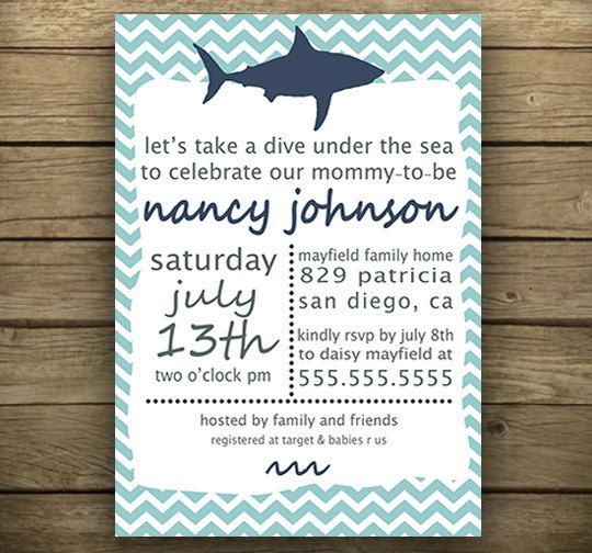Printable NauticalThemed Invitation for Baby by laurabacigalupo, $16.00