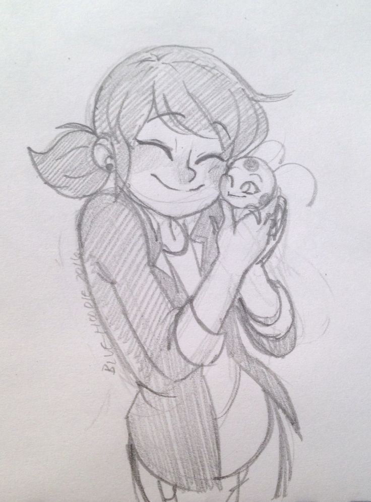 Lovely Marinette And Tikky
