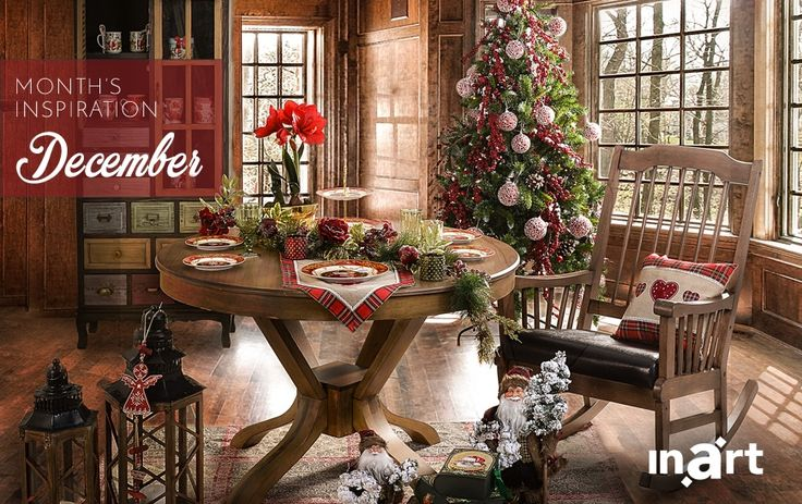 December's inspiration is all about the Christmas mood!  Discover the key pieces you need to create a space full of Christmas magic by reading our blog, here www.inart.com/en/blog