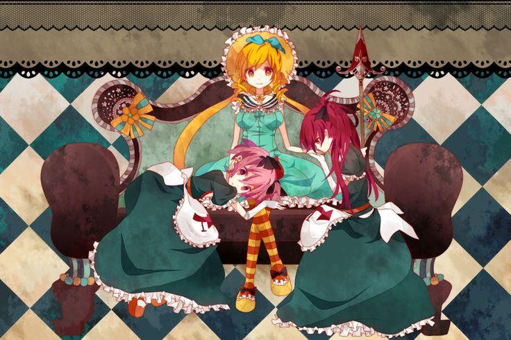 Candeloro and her minions (1). | 魔女 | Pinterest | Madoka magica ...