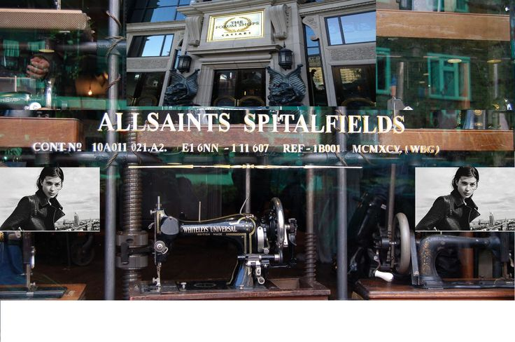 ALLSAINTS a fashion lovers DREAM!!! #Leather obsession soon to be satisfied!!! Opening 8/28/2014 at the Forum Shops in Casesars Palace. SOOOO in LOOOVE with the Alford Leather Jacket, had to share.