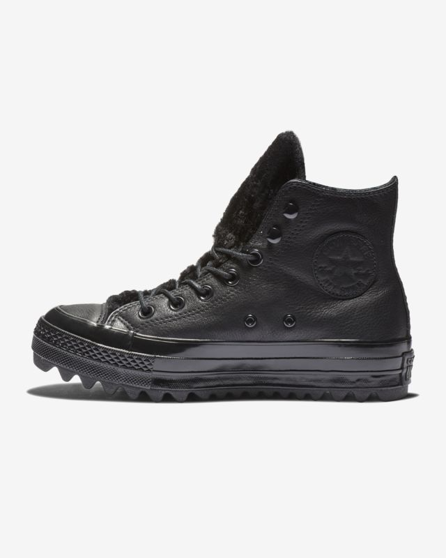 e1c2130573 Converse Chuck Taylor All Star Street Warmer Ripple High Top Boot Women's  Leather Boot