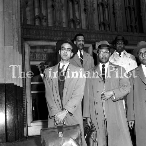 Attorneys Representing the African American Children Attempting to Integrate Norfolk and Newport News Schools - Norfolk, Virginia :: The Virginian-Pilot Photograph Collection, 1950s-2000s